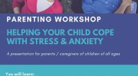 Dear Parents: Please see below for an  opportunity for a Parenting Workshop on January 19,  2021