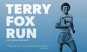Thanks to all of your generous donations, Kitchener Elementary students and staff raised just under $1500 for the Terry Fox Foundation! Thank you all so very much!